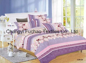 Cotton Full Size High Quality Home Textile Bedding/Bed Sheet pictures & photos