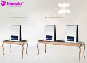 Hot Sell High Quality Modern Salon Mirror Station (K881) pictures & photos