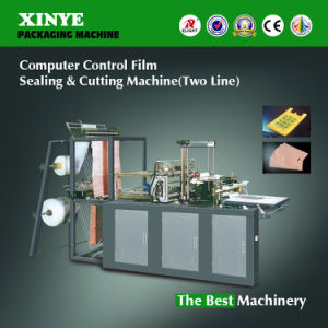 Double-Layer Computer Sealing Cutting Bag Making Machine pictures & photos
