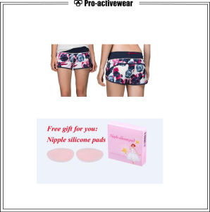 Custom Logo Stretch Fabric Manufacturer Lycra Beautiful Shorts pictures & photos
