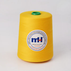 Wholesale 100% Polyester Continuous Filament Sewing Thread pictures & photos
