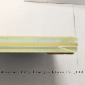 10mm+Silk+5mm Ultra Clear Laminated Glass/Tempered Glass/Safety Glass for Building pictures & photos