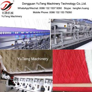 Mattress Computerized China Stitch Multi Needles Quilting Machine Yt-3200b pictures & photos