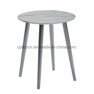 Modern Four Leg Table with Stone for Restaurant Furniture (SP-RT579) pictures & photos