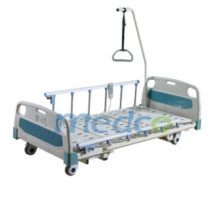 Ultra-Low Three Functions Electric Hospital Bed pictures & photos