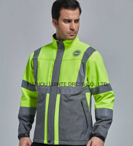 Winter 2 in 1 High Visibility Safety Jacket Workwear pictures & photos