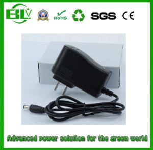 Switching Power Supply of 4.2V1a Smart AC/DC Adapter for SANYO 26650 Lithium Battery pictures & photos