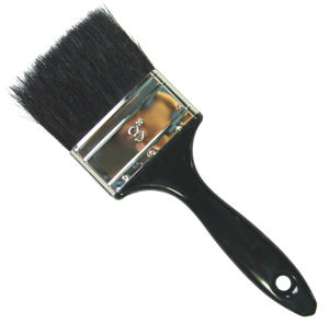 "Painting Tools 3"" Paint Brush with Natural Pure Bristle and Plastic Handle pictures & photos"