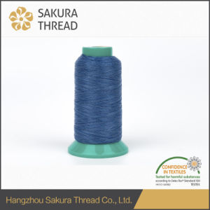 Oeko-Tex Grade 1 Sakura Reflective Polyester Embroidery Thread for Hat Use pictures & photos