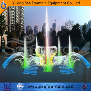 Wooden Package Stainless Steel Lake Floating Fountain pictures & photos