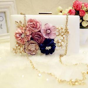 2017 Hot Fashion Flower Purse Clutchs Bag Ladies Party Bag Eb762 pictures & photos