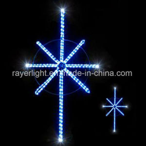 LED Rope Light Christmas Decoration North Star Neon Sign pictures & photos