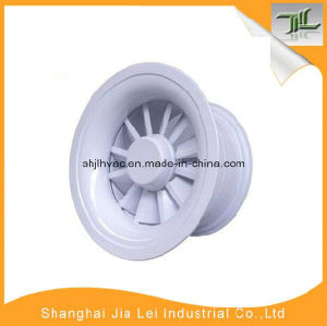 Decorative Round Air Swirl Diffuser for Ventilation Use