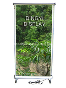 Adjustable Electric Scrolling Roll up Display Banner (SR-08) pictures & photos
