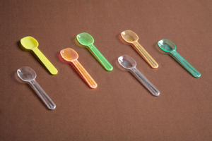 Mini Spoon Plastic Ice Cream Spoon pictures & photos