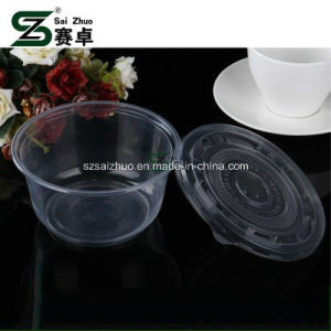 360ml Clear Disposable Plastic Soup Bowl pictures & photos