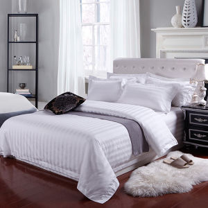 Customized Luxury Egyptian Cotton Stripe Hotel Bedding Set/Bed Linen pictures & photos