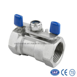 Stainless Steel 1PC Inside Thread Reduce Port Floating Ball Valve pictures & photos