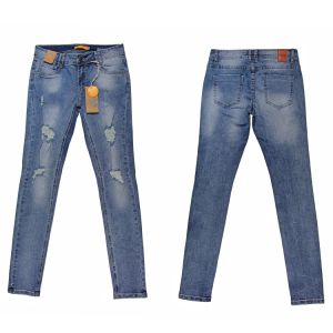 Lady′s Popular Nice Quality Washing Whloesale Denim (MY-014) pictures & photos