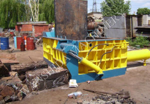 Scrap Metal Baling Machine with PLC