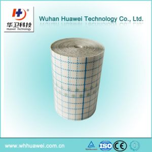 Medical PU Film Raw Material for Wound Dressing, I. V Dressing with Line Cutting Linier pictures & photos