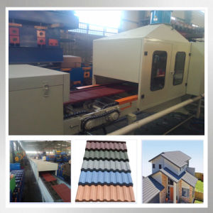 Roofing Stone Coated Panel Sand Blasting Machine Line pictures & photos