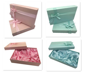 Cloth Boxes with Rigid Foldable Paper Gift Box pictures & photos