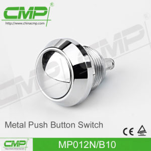 12mm Metal Push Button Switch with Round Head (Momentary Funtion) pictures & photos