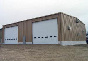 Double Door Prefabricated Light Steel Structure Mini Warehouse (KXD-SSB38) pictures & photos