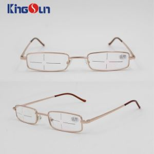 High Quality Metal Reading Glasses with Aluminum Case pictures & photos