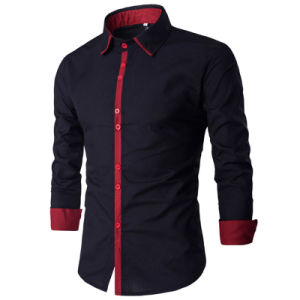 Fashion Autumn Hot Seller Mens Casual Dress Shirts (A438) pictures & photos