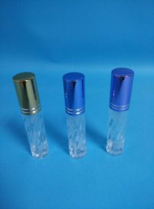 10ml Transparent Glass Perfume Bottles with Cap pictures & photos