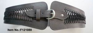 Customized Grey Leather Belt pictures & photos
