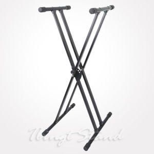 "Double ""X"" Style Keyboard Stand (TKB145) pictures & photos"