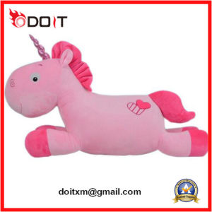 Standing Ce Stuffed Toy Pink Fancy Cute Soft Plush Horse pictures & photos