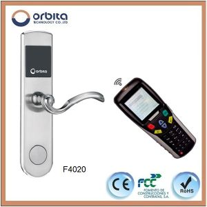 CE FCC Rohs Cheap Price RFID Access Control Door Lock, RFID Hotel Lock, RFID Cylinder Lock pictures & photos