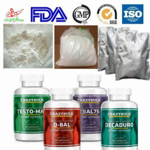 High Purity Raw Anabolic Steroid Powder Oxandrolone Anavar pictures & photos