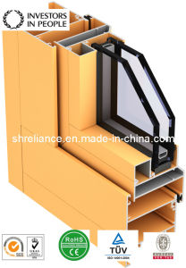 Aluminum/Aluminium Extrusion Profiles for Building Install pictures & photos