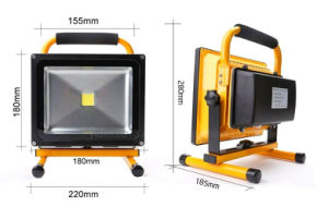 Outdoor IP65 Emergency 20W Portable LED Flood Light pictures & photos