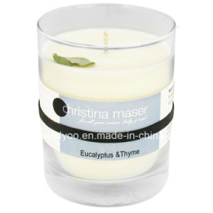 Eucalyptus Scented Soy Glass Candle pictures & photos