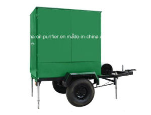 Zym Mobile Trailer Double -Stage-Vacuum Transformer Oil Purifier pictures & photos