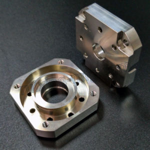 High Precision Stainless Steel CNC Machining Part for Motor Part Front Rear End Cap pictures & photos