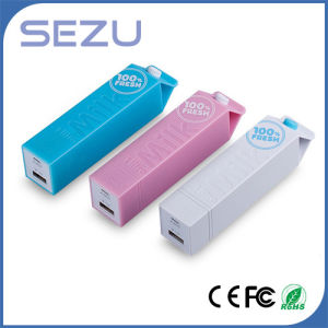 Super Mini Portable Mobile Power Charging Milk Box Power Bank pictures & photos