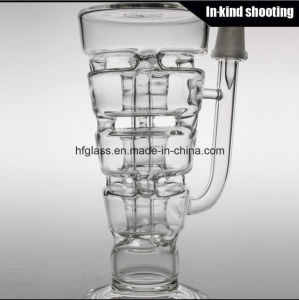 Hitman Glass Sundae Hookah Stack Rigs Oil DAB Thick Smoking Water Pipe pictures & photos