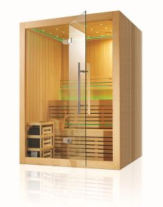 Monalisa Mini Luxury Sauna Room Sauna Cabin Sauna House M-6030 pictures & photos