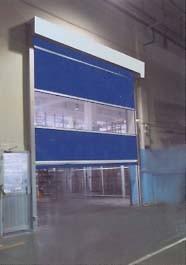 High Speed Remote Control Industrial Door