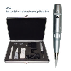 Permanent Tattoo Makeup Machine for Eyebrows/Eyeliner/Lip Makeup pictures & photos
