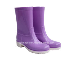New Comfortable High Heels Women Shoess. Lady Rainboots