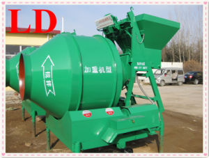 High Efficiency Concrete Mixer Machine Price with Lift Jzc350
