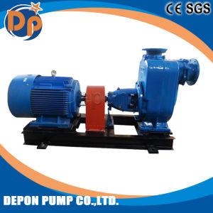4/6/8 Inch Diesel Engine Self-Priming Centrifugal Sewage Pump pictures & photos